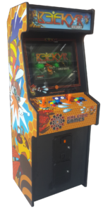 Check the Arcade Cabinet